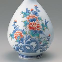徳利形花瓶—岩牡丹